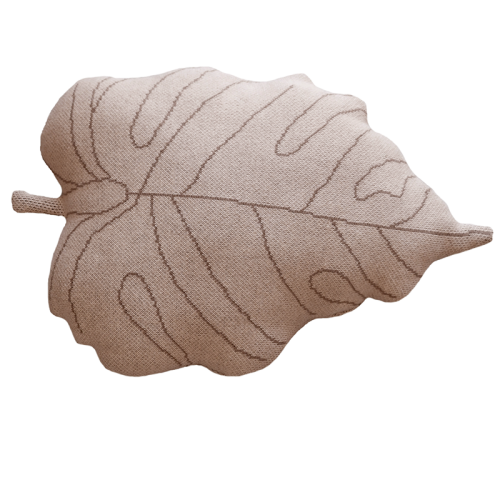 Coussin BABY LEAF Rose...