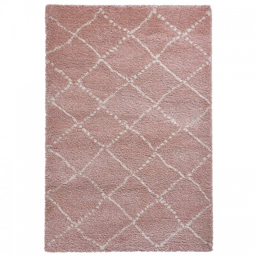 NOMADE  Rose Shaggy chambre...