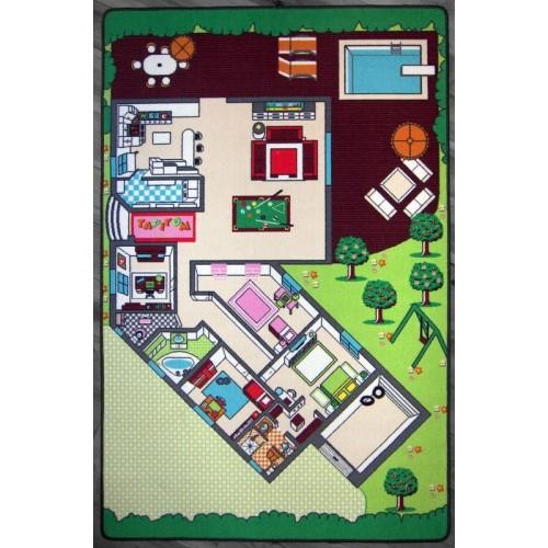 La Maison Tapis de jeux par Tapitom