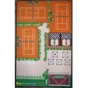Le Tennis Tapis de jeux par Tapitom