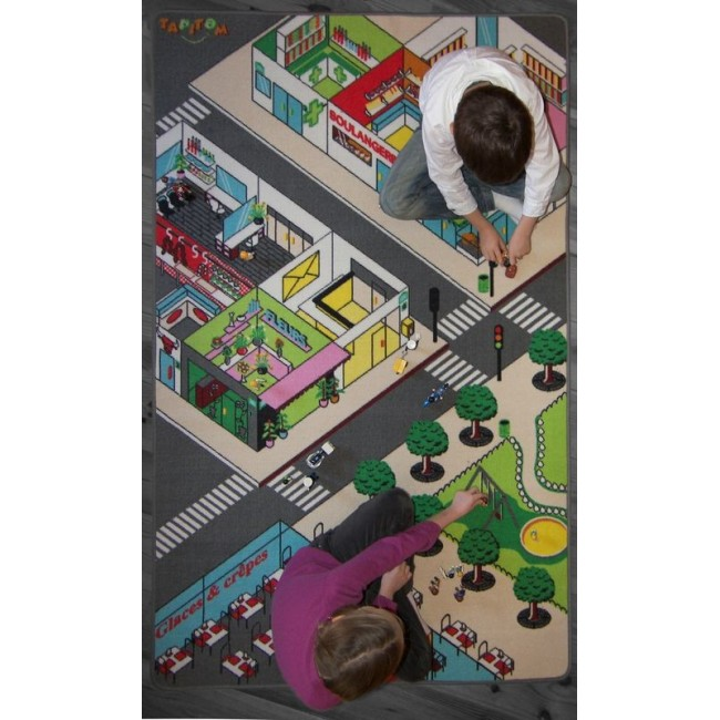 LA VILLE Tapis de jeu par Tapitom