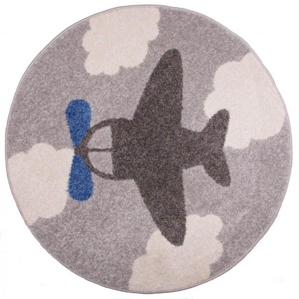 Tapis multicolore fly fabulous tapis rond en jute dcm for Tapis rond chambre bebe