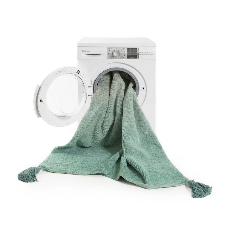 Couleur Peinture D Un Salon : Tapis Dégradé Vert Emeraude chambre bebe fille lavable Lorena Canals