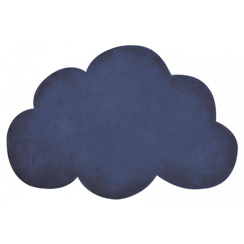 Tapis Chambre Bebe Nuage : Tapis nuage bleu marine chambre bébé garçon par lilipinso