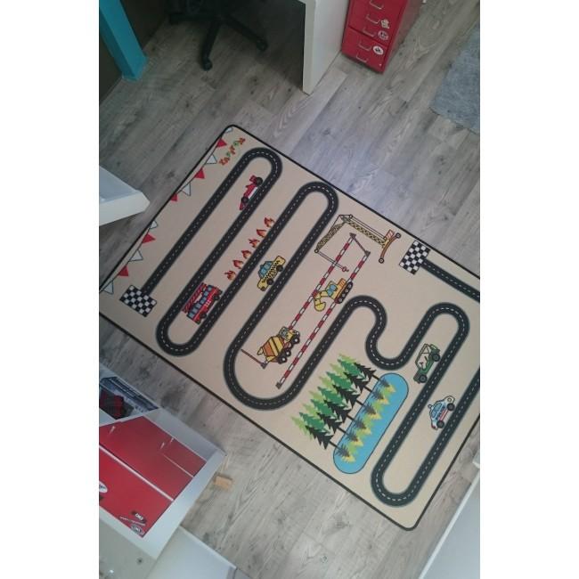 CIRCUIT DESIGN Tapis de jeux par Tapitom