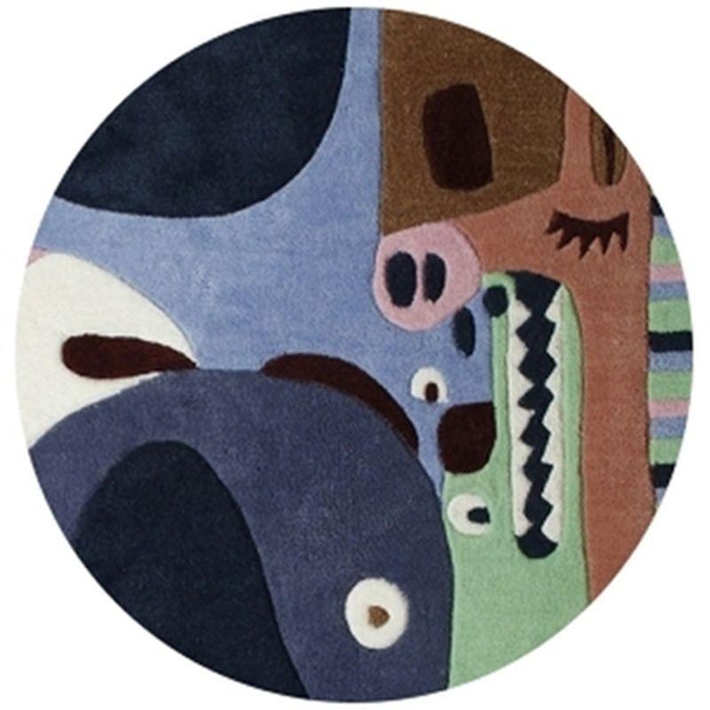 tapis b b puzzle animaux 2 rectangle chambre fille par. Black Bedroom Furniture Sets. Home Design Ideas