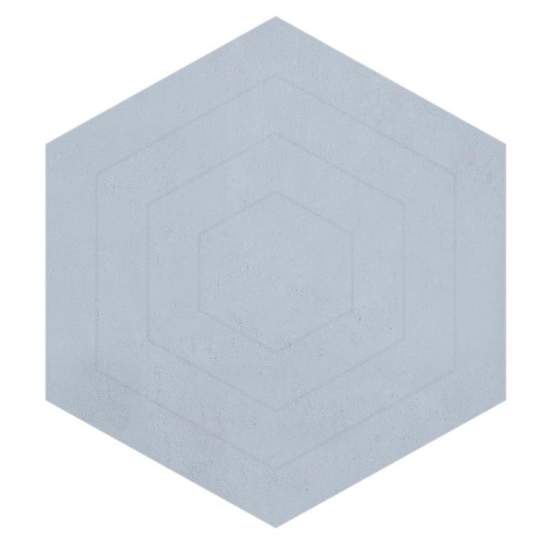 Tapis hexagone bleu pastel chambre b b gar on par lilipinso - Chambre bebe pastel ...