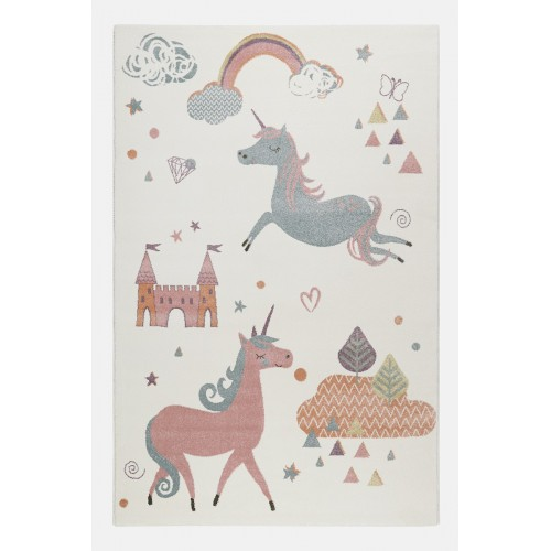SUNNY UNICORN multicolore fonds écru bebe fille rectangle par Esprit Home