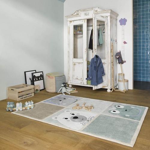 WHAT'S UP Multi rectangle pour chambre bébé garçon par SMARTKIDS