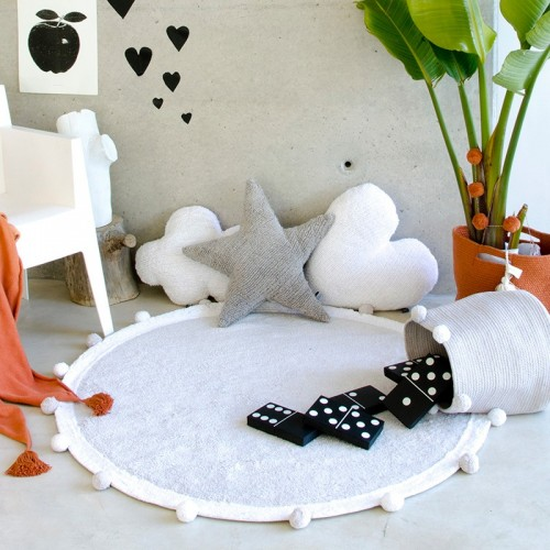 Tapis lavable coton BUBBLY...