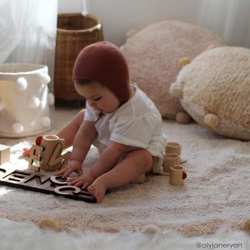 Tapis enfant coton rond...