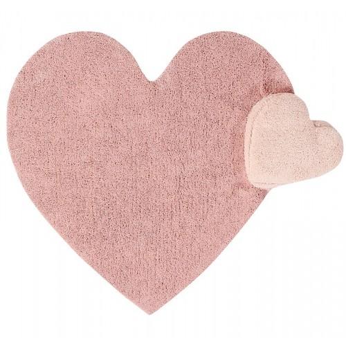 Tapis enfant coton coeur...