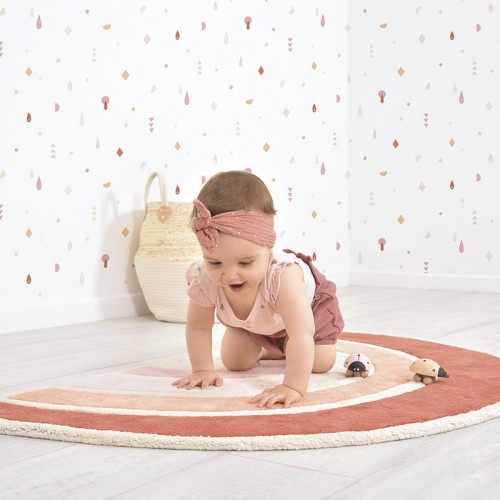 Tapis bébé RAINBOW Orange...