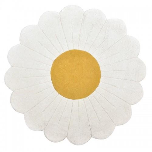 Tapis enfant coton fleur...