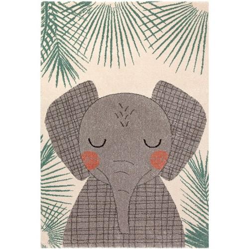 Tapis enfant éléphant JUNKO