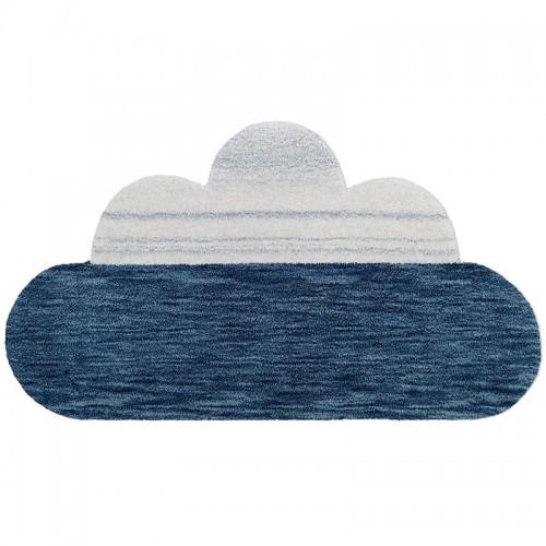 Tapis nuage GRETA bleu pour...