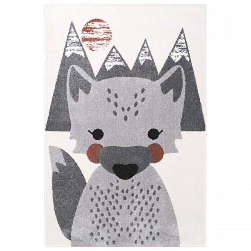 Tapis enfant petit loup MR FOX