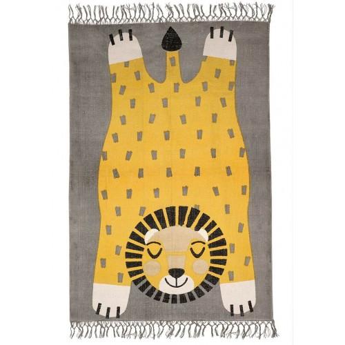 Tapis enfant lion BABA