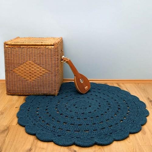 Tapis bébé design crochet,...