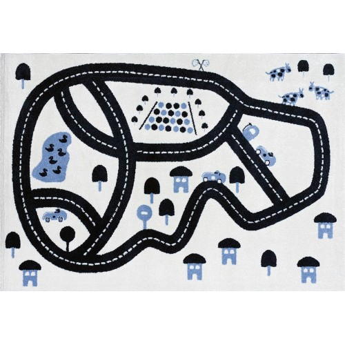Tapis enfant circuit RACE...