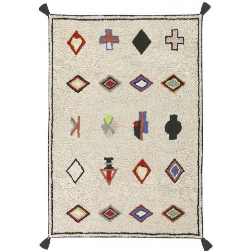 Tapis coton ethnique NAADOR