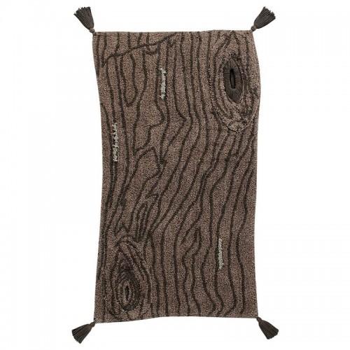 PINE TREE brun lavable par...
