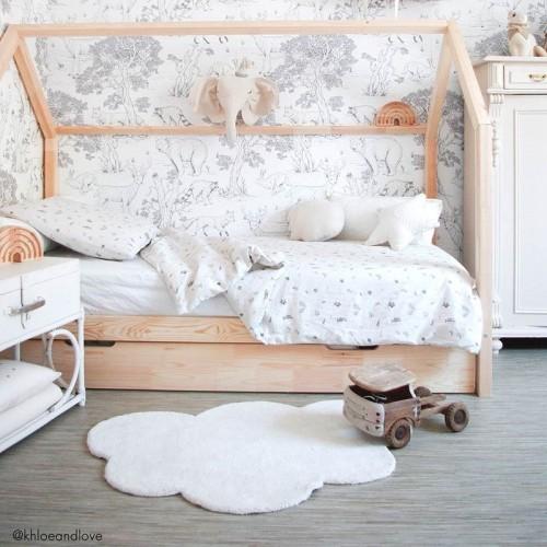 NUAGE Blanc  chambre bébé...