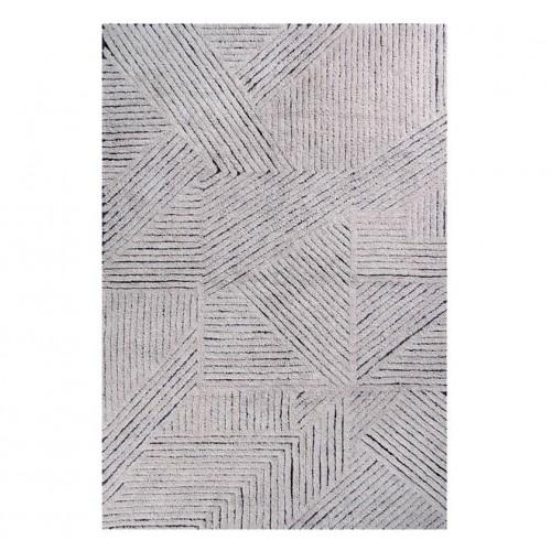 Tapis laine contemporain...