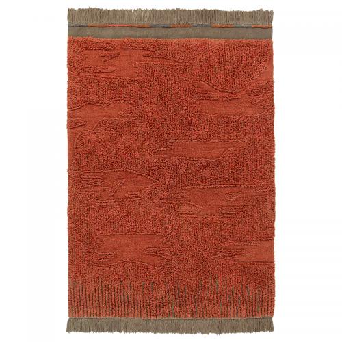 Tapis laine ethnique NARANGURU