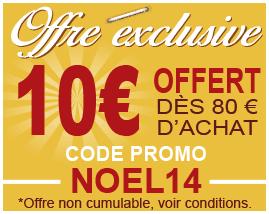 Code promo Noel 2014